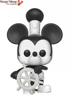 FunKo Pop! Disney: Mickey's 90th - Steamboat Willie  - $40.54