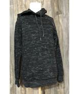 J.O& Co Women Black Gray Pullover Hoodie M Sweatshirt - $18.80