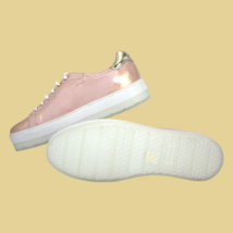 DIESEL S-Andyes Womens Casual Sneakers Snakeskin White Copper Pink Size US 9 New - $110.19