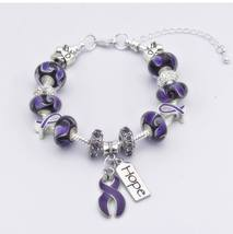 Lupus Awareness European Style Bracelet - $31.95