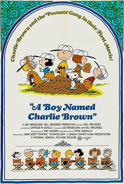Primary image for A Boy Named Charlie Brown - 1969 - Movie Poster