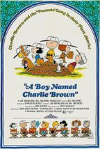 A Boy Named Charlie Brown - 1969 - Movie Poster - $9.99+