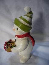 Bethany Lowe Deck the Halls Snowman no. TD 9080 image 4