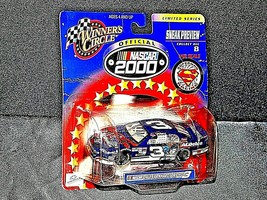NASCAR Winner's Circle NASCAR Superman black # 3 Dale Earnhardt Limited Series image 2