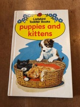 """1984-85 """"PUPPIES AND KITTENS"""" LADYBIRD BOOK (70p NET) - $1.30"""