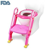 [FDA Certified] Ostrich Toilet Step Trainer Ladder for Kid and Baby, Children's