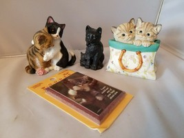 Lenox A Tote For Two & Kitty Sweethearts Figurines Cats Lovers Collectible - $62.02