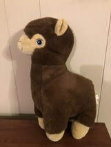 "Nanco Brown Llama Plush Soft 13"" X 7"" - $11.88"