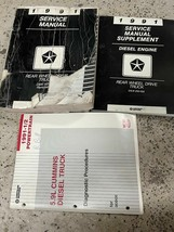 1991 Dodge Ramcharger Dw 150 250 350 Servizio Negozio Repair Manuale Set... - $118.59