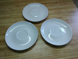 Franciscan whitestone ware saucers - $9.45
