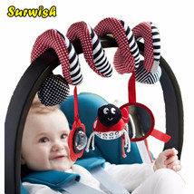 Surwish Cute Infant Babyplay Baby Toys Activity Spiral Bed & Stroller Toy Set Ha - $11.40