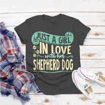 Shepherd Dog For Dog Owner Cute Dog Mom T-Shirt Ideas Birthday Gift Vint... - $15.99+