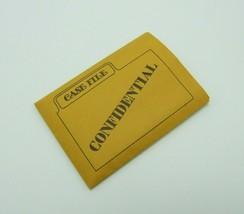 Clue Case File Envelope Replacement Game Part Piece 1972 No.45 - $1.99