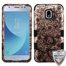 Four-Leaf Clover TUFF Hybrid Case for SAMSUNG Galaxy J3 V 2018/Star/Achieve - $11.39