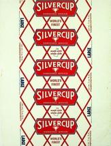 Vintage bread wrapper SILVERCUP Worlds Finest dated 1961 Michigan Illino... - $8.99