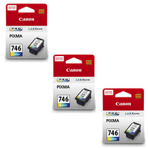 Canon PIMXA Tri-Color Ink Cartridges (for MG3070/MG2970/MG2570)(3pcs), CL-746 - $89.99