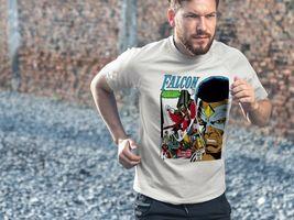 The Falcon Dri Fit graphic T-shirt microfiber UPF +50 retro superhero Sun Shirt image 4