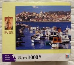 Big Ben Jigsaw Puzzle Riveria Di Ponente Italy Adult 1000 Pcs Sealed Retail Box - $14.83