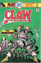 Claw The Unconquered Comic Book #3, DC Comics 1975 VERY FINE+ - $4.50