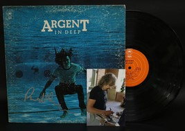 """Rod Argent Signed Autographed """"In Deep"""" Record Album - $29.99"""