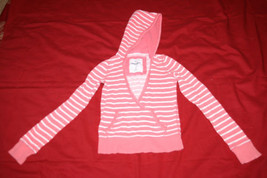 Abercrombie Hoodie Pullover Cardigan Stripped Sz S Adirondack Heritage - $2.32