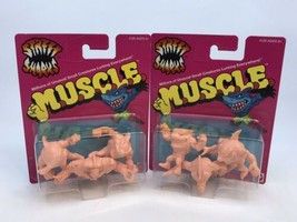 Mattel Street Sharks M.U.S.C.L.E. Men Retro Style Figures Complete Set N... - $30.94