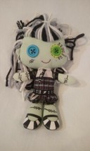 "2003 MATTEL 9"" Plush MONSTER HIGH Doll FRANKIE STEIN Frankenstein Stuffe... - $14.84"