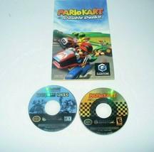 Mario Kart: Double Dash!! (GameCube, 2003) Disc, Bonus Disc & Instructio... - $69.18