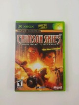 Crimson Skies Microsoft GS (original Xbox 2003) Complete with Manual Tested - $6.79