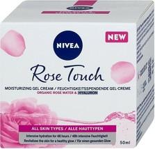 Nivea~Facial Moisturizing Cream Gel~Organic Rose Water~50 ml~Premium Quality - $19.79