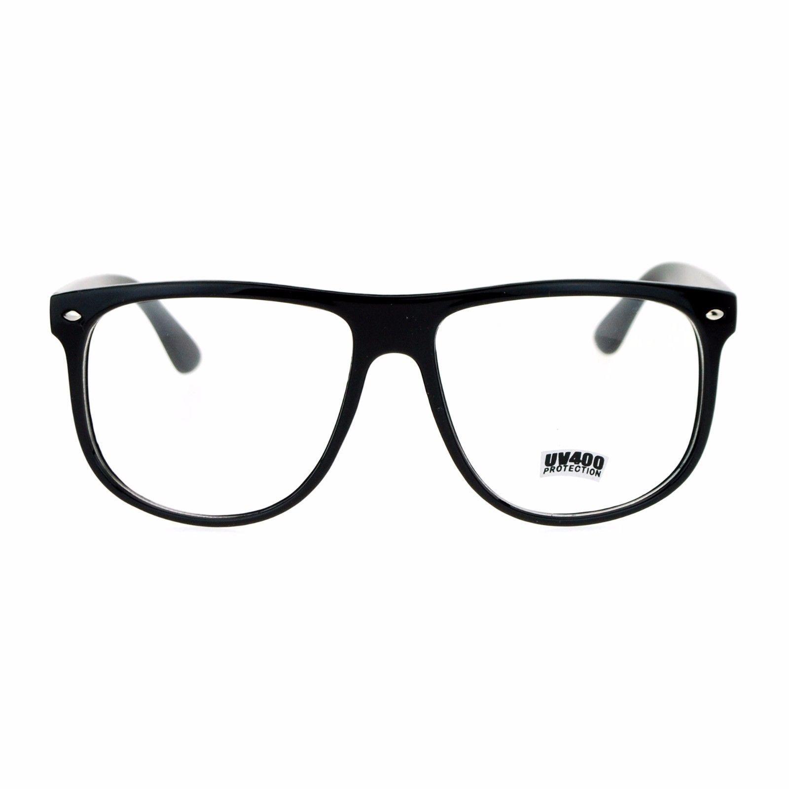 Clear Lens Eyeglasses Unisex Designer Fashion Glasses Frames UV 400