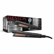 Revlon Perfect Heat Copper Glide Iron Straightener Styler Digital Voltage World - $177.75