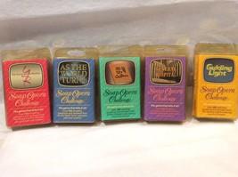 Vtg 1987 Soap Opera Challenge Trivia Card Games Lot Of 5 Decks Daytime TV - $18.49