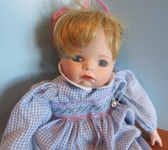 "Ashton Drake First Issue ""LOTS OF LOVE"" Porcelain Doll 13"" ""HANNAH NEEDS... - $34.65"
