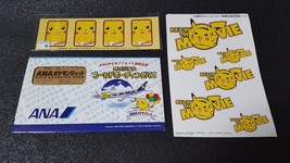 JAPAN ANA Pokemon Jet Gold Pass Commemorative Card PIKACHU PROMO - $65.06