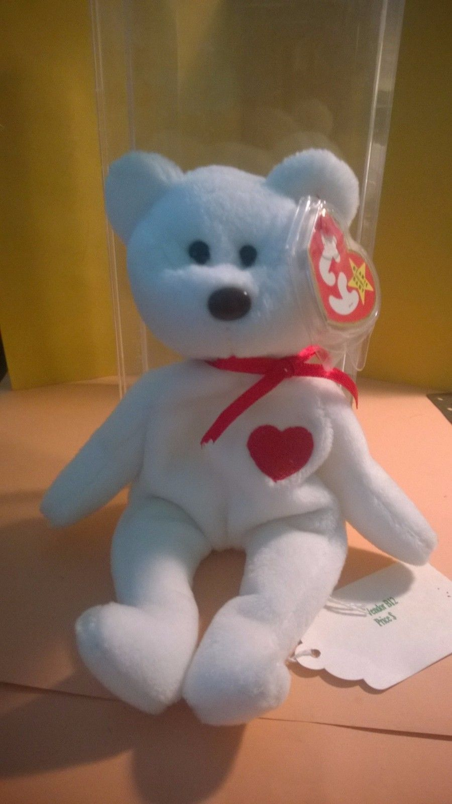 a66ba684cae S l1600. S l1600. Very RARE RETIRED Ty Valentino Beanie Baby- with Swing Tag    Tush Tag Error. Very RARE RETIRED Ty Valentino Beanie ...
