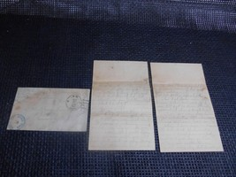 Old Vtg 1944 US Navy Sailor GEORGE CARROLL HANDWRITTEN LETTER Louisville... - $29.69