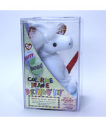 WHITE UNICORN | Happy Birthday Kit | 2003 COLOR ME TY Beanie | Factory S... - $14.79