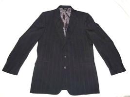 Trego's Westwear Woodward Sports Coat Blazer Jacket Navy Blue 46L Gray P... - $21.99