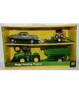 John Deere TBE45368 Mega Hauling Playset Pickup Trailer Skid Steer Tract... - $54.99