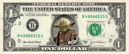 YODA on a REAL Dollar Bill Star Wars Cash Money Collectible Memorabilia ... - $8.88