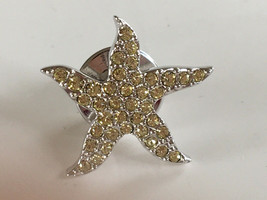 Swarovski Crystal Community Starfish Tack Pin - $16.00