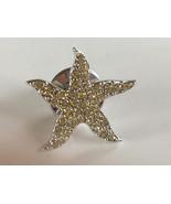 Swarovski Crystal Community Starfish Tack Pin - $16.00