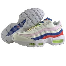 Nike Air Max 95 Size 7 Womens Shoes Panache Sail Artic Pink Racer Blue Rose - £108.29 GBP