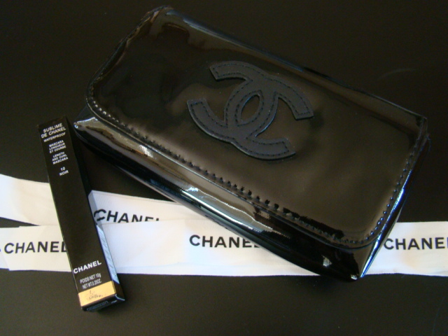 625b3b261182 New Auth CHANEL VIP Black Patent Waist Belt and 50 similar items. Marfa2 010