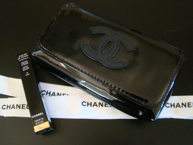 fba1ab1a3e70 Marfa2 010. Marfa2 010. Previous. New Auth CHANEL VIP Black Patent Waist  Belt Bag Fanny Pack + Free Mascara