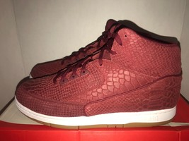 Nike Air Python PRM LE  Red  Men's Size 14 DS 705066 601 - $143.55