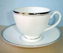 Waterford Kilbarry Platinum Tea Cup & Saucer - $24.99