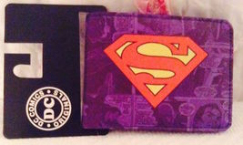 D.C. Comic Superman Bifold  Wallet—More Movie  Character Wallets Availab... - $12.47