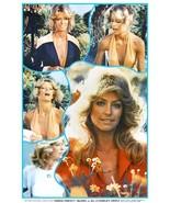 Farrah Fawcett / Charlie's Angels 24 x 37 1976 BI-RITE Collage Poster Re... - $45.00